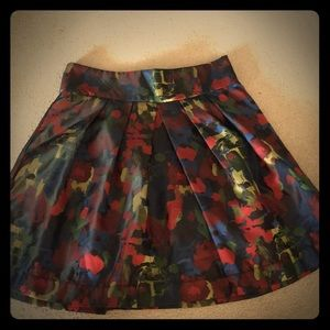 NWOT tags multicolored skirt